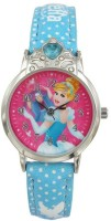Disney Cinderella Pink colour Dial Analog Watch (AW100728) Watch  - For Girls