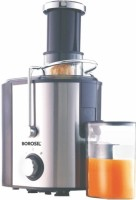 Borosil BJU50SSB11 500 Juicer(Steel, Black, 1 Jar)