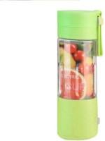 WDS Portable USB Rechargeable Blender Juicer 1 Jar (Multicolor As per Availability) 0 Juicer Mixer Grinder(Green, 1 Jar)
