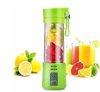 WDS Portable USB Electric Juicer, Blender 450 Juicer (Multicolor, 1 Jar) 0 Juicer Mixer Grinder(Green, 1 Jar)
