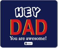 Indigifts Fathers Gifts, Fathers Birthday Gift, Dad Gift, Mouse Pad, Anniversary Gifts, Gift for Papa, Mousepad_S-MPDRBBK01RTMP-DAD18262 Mousepad(Multicolor)