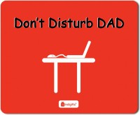 Indigifts Dad Gift, Mousepad, Fathers Gifts, Fathers Birthday Gift, Daddy Birthday, Gift for Papa, Mouse Pad_S-MPDRBBK01RTMP-DAD18264 Mousepad(Red)