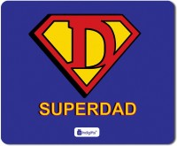Indigifts Dad Gift, Mouse Pad, Fathers Day Gift, Fathers Birthday Gift, Daddy Birthday, Gift for Papa, Mousepad_S-MPDRBBK01RTMP-DAD18263 Mousepad(Blue)