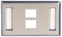 Molex Face Plate SS Two Port Network Interface Card(White)