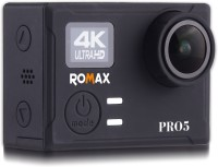 Romax Pro 5 Pro 5 Sports and Action Camera(Black 30 MP)