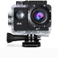 ALONZO 4k Action Camera Waterproof Sports 4K Wifi Action Camera – Ultra HD, 16MP,2 Inch LCD Display, HDMI Out, 170 Degree Wide Angle Sports and Action Camera(Black, 16 MP)