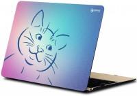 makimus designs Funny Cat Vinyl Laptop Decal 15.6