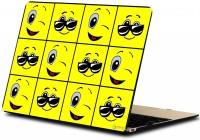makimus designs Funny Happy Smiley Vinyl Laptop Decal 15.6