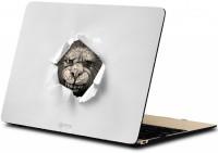 makimus designs 3D Realistic Monster Vinyl Laptop Decal 15.6