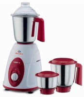 Bajaj Classic 750 Mixer Grinder(Red,White, 3 Jars)