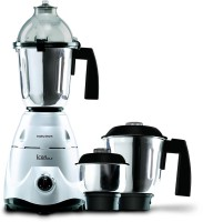 Morphy Richards Icon DLX 750 Mixer Grinder(Silver, 3 Jars)