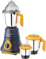 Morphy Richards primo classique 750 Mixer Grinder(Grey ,Orange, 3 Jars)