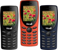 Hicell C1 Tiger Pack of Three Mobiles(Black)