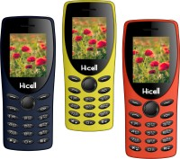 Hicell C1 Tiger Pack of Three Mobiles(Blue)