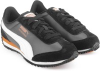 Puma Boys & Girls Lace Sneakers(Black)