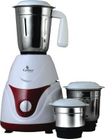 Candes MG155 Cosmo 550W Mixer Grinder 550 Mixer Grinder(White, Red, 3 Jars)
