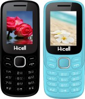 Hicell C9 Metro Combo of Two Mobiles(Black$Green&Light Blue$Black)