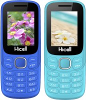 Hicell C9 Metro Combo of Two Mobiles(Navy Blue$Black&Light Blue$Black)