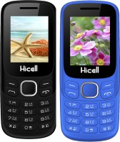 Hicell C9 Metro Combo of Two Mobiles(Black$Dark Grey&Navy Blue$Black)