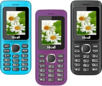 Hicell C5 Pack of Three Mobiles(Blue$Black&Voilet$Black&Black$Red)