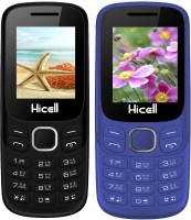 Hicell C9 Metro Combo of Two Mobiles(Black$Dark Grey&Dark Blue$Black)