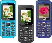 Hicell C5 Pack of Three Mobiles(Blue$Black&Black$Red&Dark Blue$Black)
