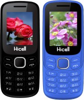 Hicell C9 Metro Combo of Two Mobiles(Black$Green&Navy Blue$Black)