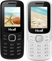 Hicell C9 Metro Combo of Two Mobiles(Black$Dark Grey&White$Orange)