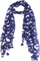Ziva Fashion Printed Cotton Blend Women Scarf