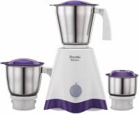 Preethi New Crownn 500 W Mixer Grinder (3 Jars, White/Purple)