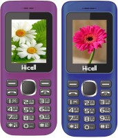 Hicell C5 Combo of Two Mobiles(Violet & Dark Blue)