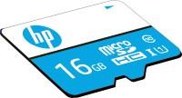 HP U1 16 GB MicroSDHC Class 10 80.0 Mbps  Memory Card