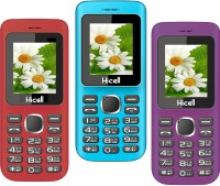 Hicell C5 Pack of Three Mobiles(Red)
