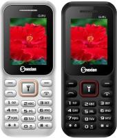 Snexian Guru 310 Combo of Two Mobiles(White & Black)