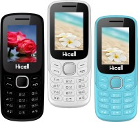 Hicell C9 Metro Pack of Three Mobiles(Black & Green)