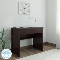 Perfect Homes by Flipkart Fermi Study Table(Free Standing, Finish Color - Wenge)