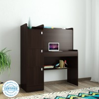 Spacewood Winner Engineered Wood Study Table(Free Standing, Finish Color - Natural Wenge)