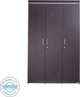 Glenco DAISY Engineered Wood 3 Door Wardrobe(Finish Color - Wenge M13)
