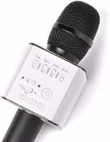 Nika Bluetooth Mic Q9 Portable Wireless Mic(Gold)