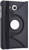 Colorcase Flip Cover for Samsung Galaxy Tab A 7.0 (2018) 7 Inches(Black)