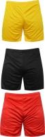 Mj Store Solid Men's Reversible Multicolor Sports Shorts