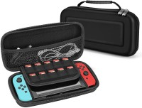 Robustrion Bumper Case for Nintendo Switch Gaming Console(Black, Rugged Armor, Polycarbonate)