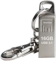 Strontium Ammo 3.1 16 GB Pen Drive(Silver)