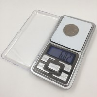 Metroz Electronic Digital Professional Pocket Scale for upto 200 Grams Weighing Scale(Grey)
