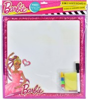 Barbie 2 in 1 Writing Board & Snakes & Ladders Educational Board Games Board Game