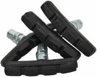 fastped Break Shoe 4nos For Bicycles, Black Brake Shoe(Black)