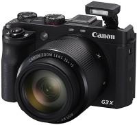 Canon PowerShot G3 X(20.2 MP, 25x Optical Zoom, 25x Zoom Digital Zoom, Black)