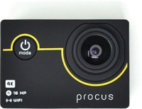 PROCUS Rush 4K Basic Pack Sports and Action Camera(Black, 16 MP)