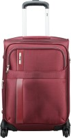 VIP TRYST 4W EXP STROLLY 55 CRIMSON RED Expandable  Cabin Luggage - 20 inch(Red)