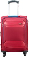 VIP ZANE 4W EXP STROLLY 59 RUBY RED Expandable  Cabin Luggage - 18 inch(Red)